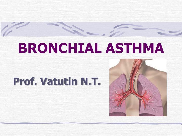 bronchial asthma n.