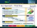 slc approach final step