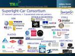 superlight car consortium 37 research partners 5 associated external partners