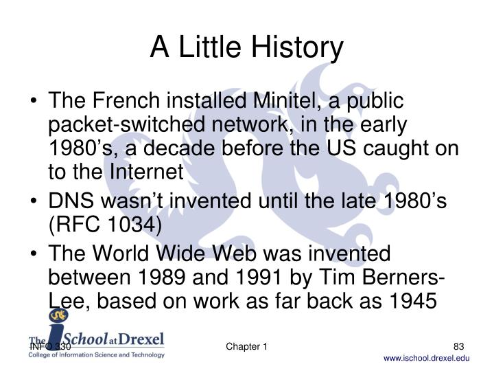 A Little History