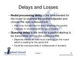 delays and losses2