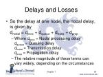delays and losses5