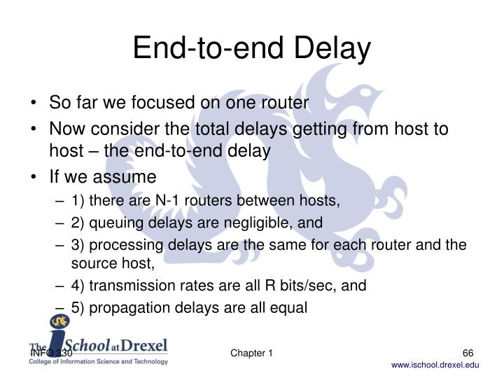 End-to-end Delay
