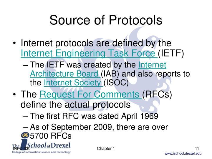 Source of Protocols