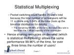 statistical multiplexing1