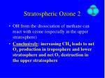 stratospheric ozone 2