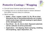 protective coatings wrapping