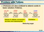 problem with tollens