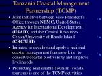 tanzania coastal management partnership tcmp