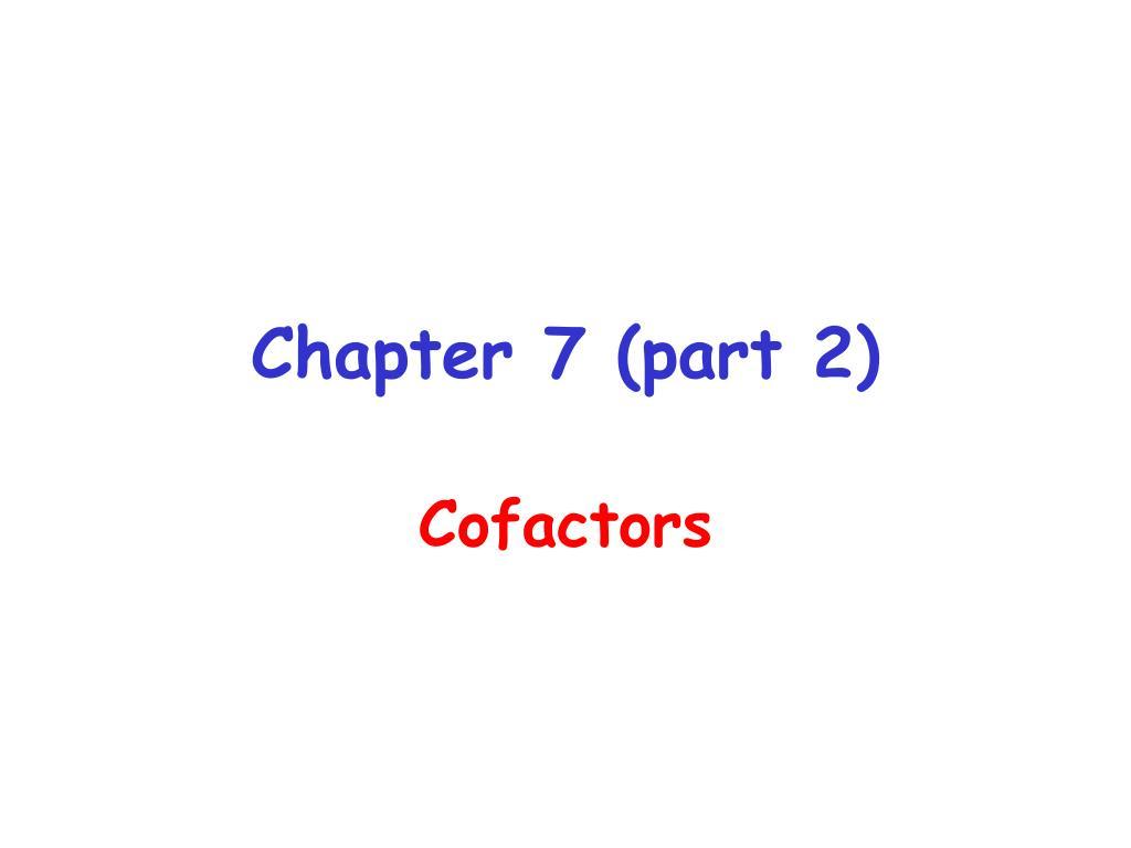 chapter 7 part 2 l.