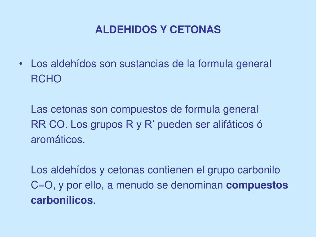 aldehidos y cetonas l.