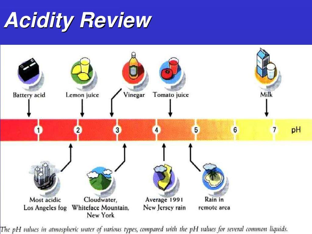 Acidity Review