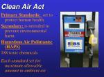 clean air act85