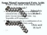 what s the deal with these fatty acids