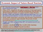 economic impact of nature based tourism