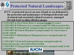protected natural landscapes