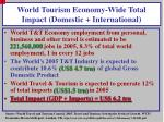 world tourism economy wide total impact domestic international