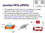 junction fets jfets6
