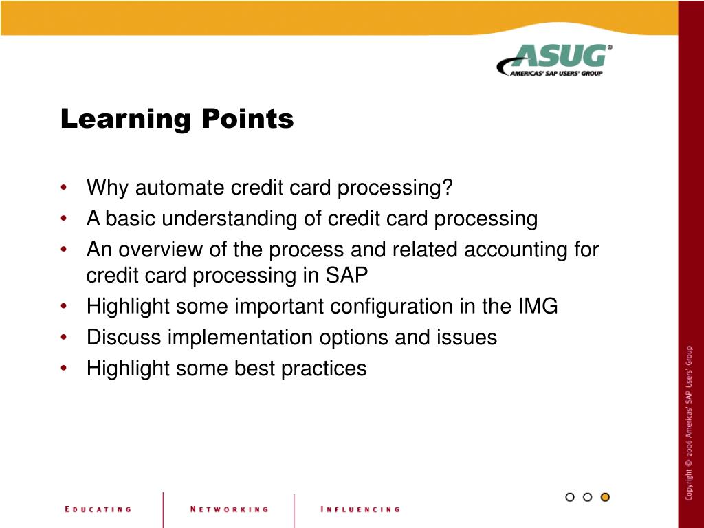 PPT - Credit Card Processing in SAP PowerPoint Presentation