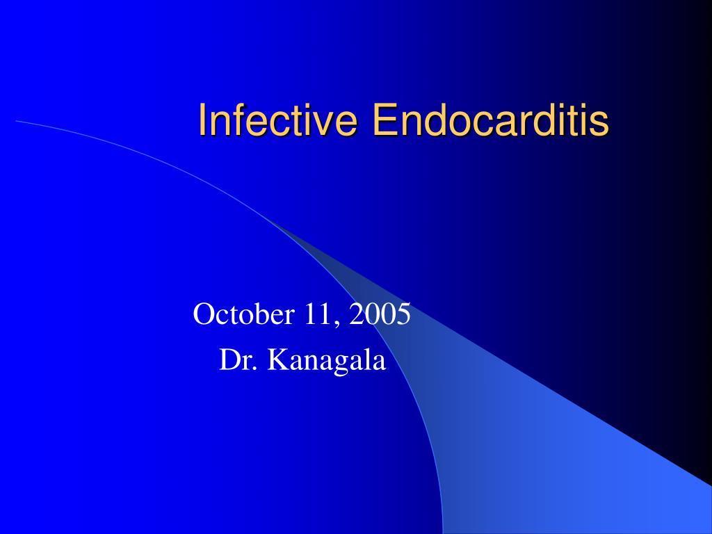 infective endocarditis l.