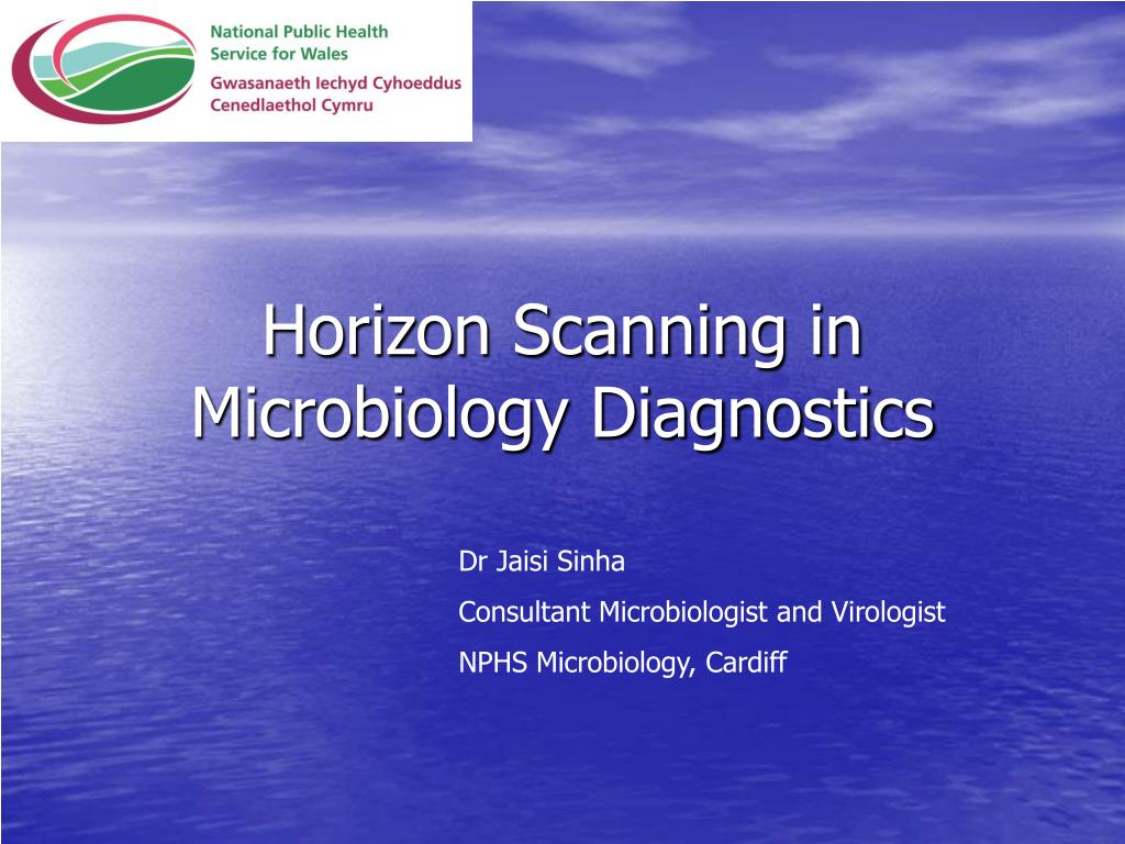 horizon scanning in microbiology diagnostics l.