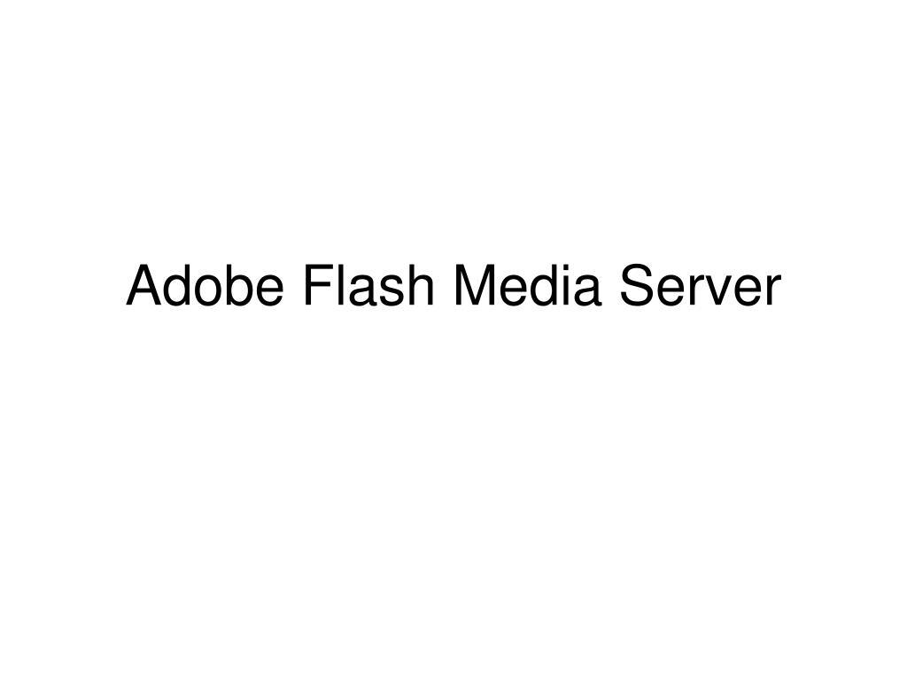 adobe flash media server l.