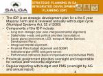 strategic planning in sa integrated development planning idp