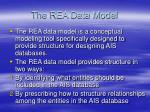 the rea data model