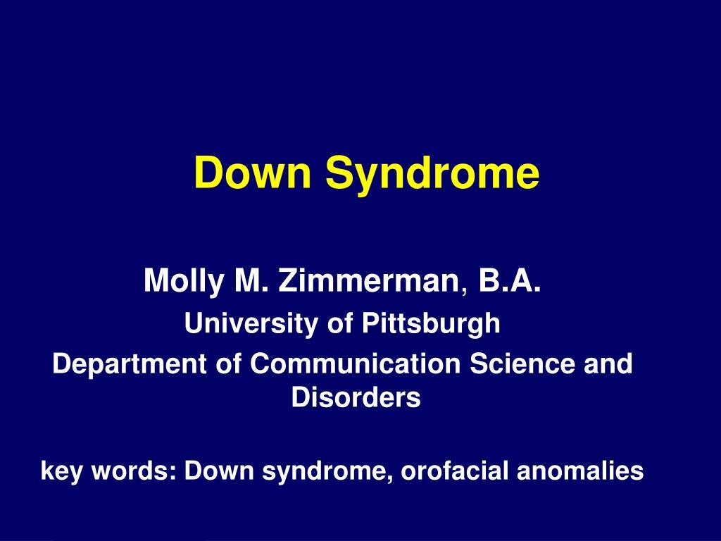 down syndrome l.