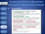proposed uk post cardiac arrest therapeutic hypothermia protocol115