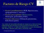 factores de riesgo cv23