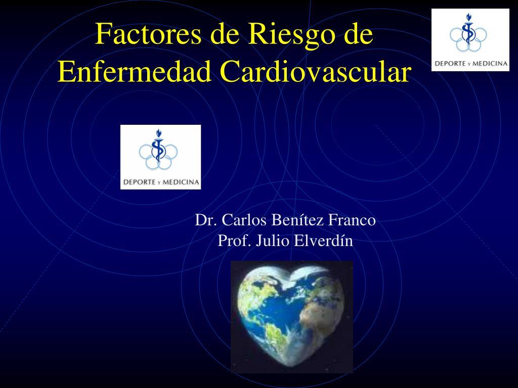 factores de riesgo de enfermedad cardiovascular l.
