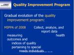 quality improvement program64