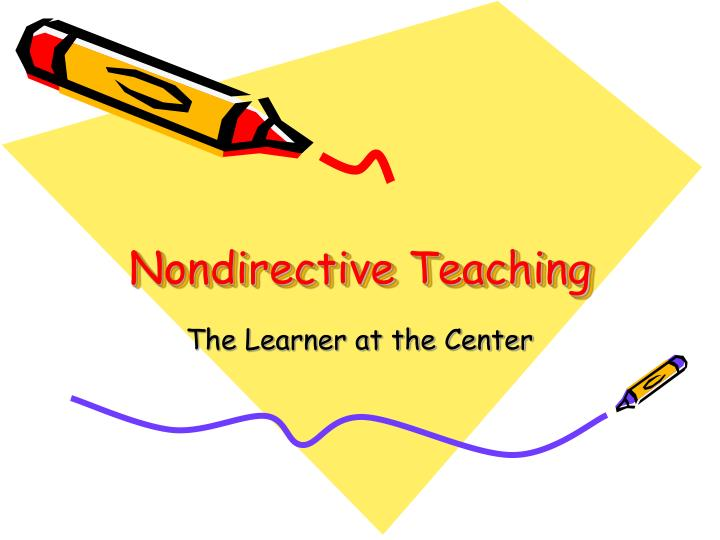 nondirective teaching n.
