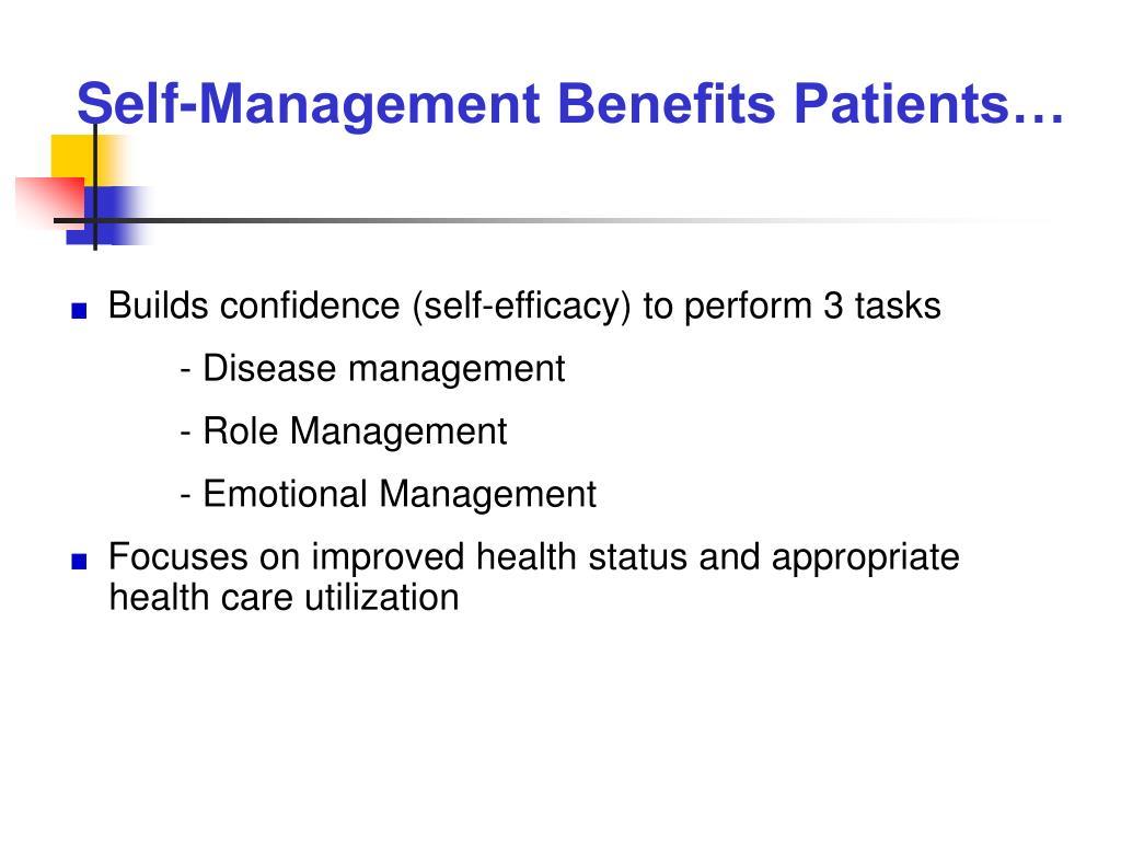 patient self management