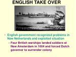 english take over