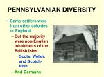 pennsylvanian diversity