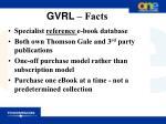 gvrl facts