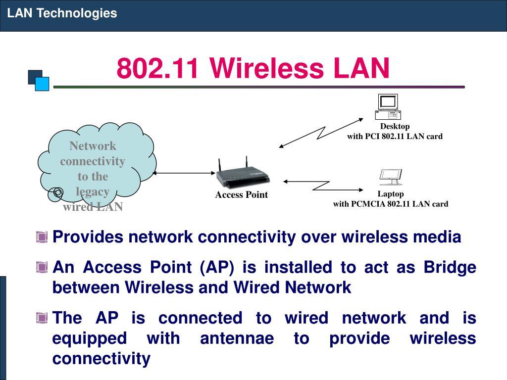 802 11 wireless lan l.