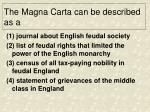 the magna carta can be described as a