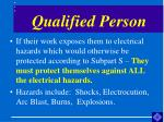 qualified person7