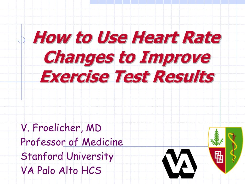 how to use heart rate changes to improve exercise test results l.
