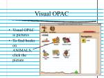 visual opac