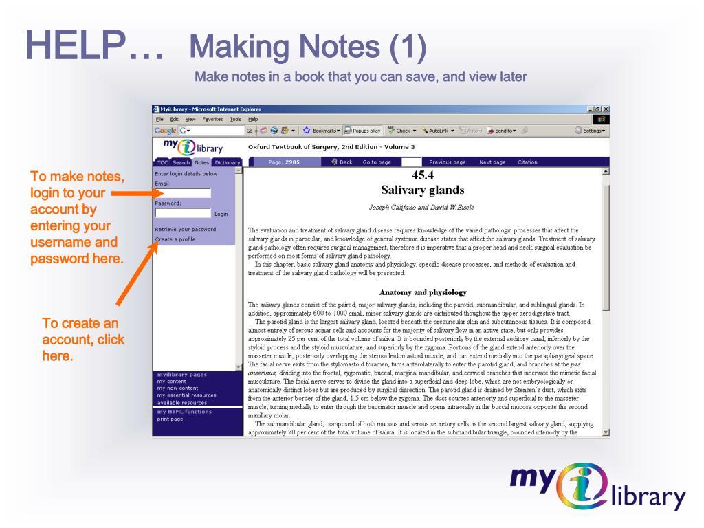Making Notes (1)