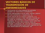 vectores b sicos de transmisi n de enfermedades54