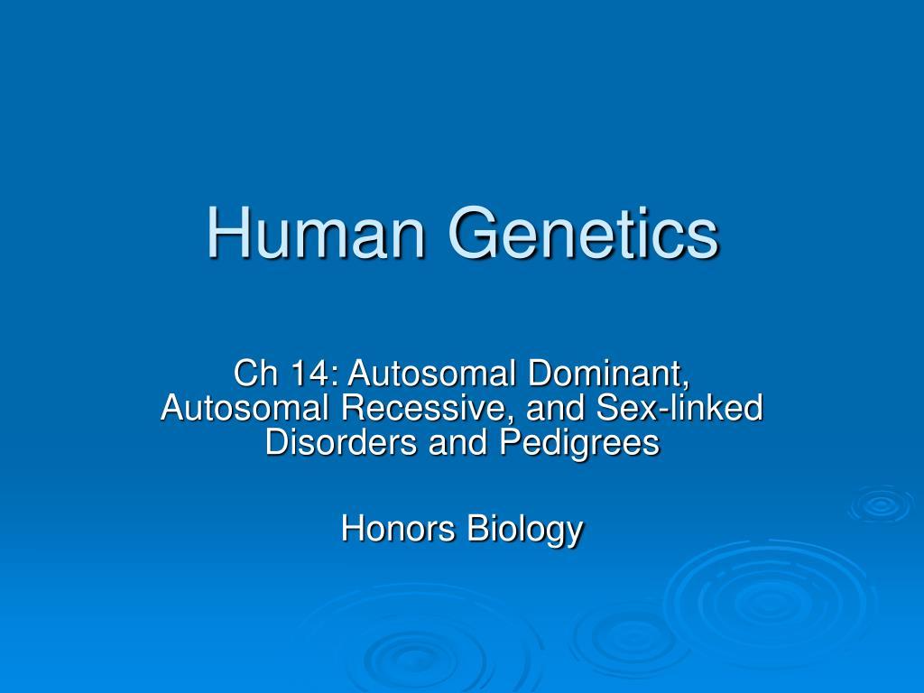 human genetics l.