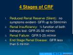 4 stages of crf