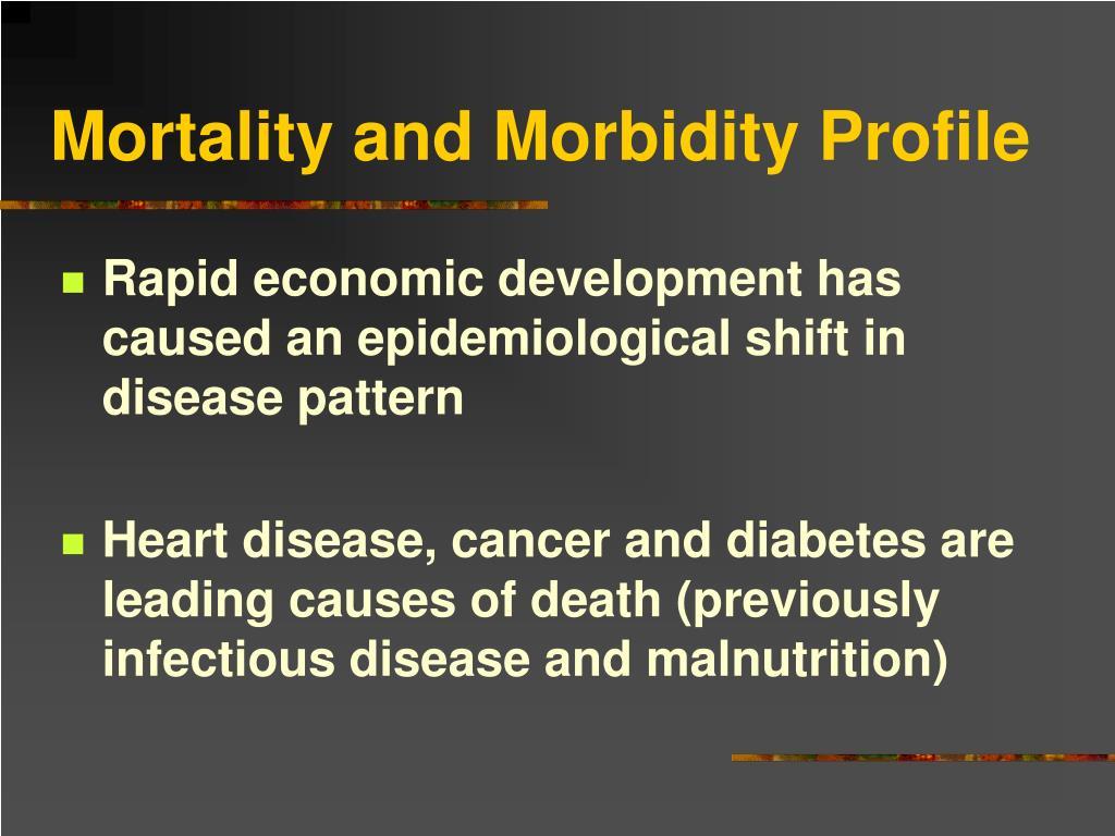 Mortality and Morbidity Profile