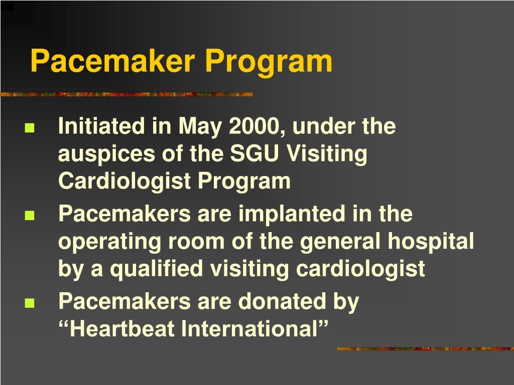 Pacemaker Program
