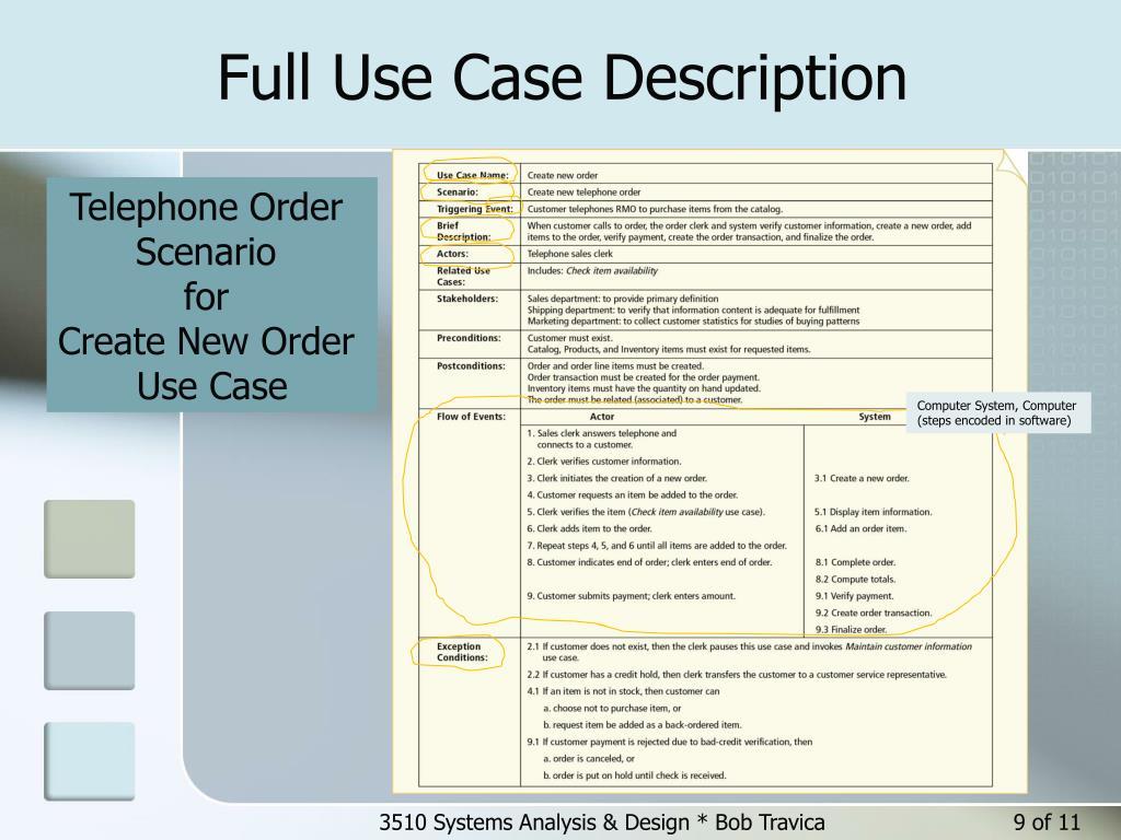a brief description of the case